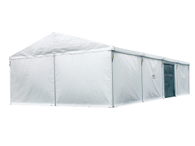 Large capacity party tent