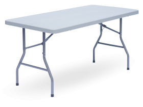 Foldable table – one-piece