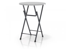 Round bar table (bistro table)