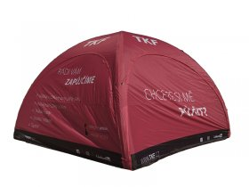 Inflatable tent - Spider Compact Red