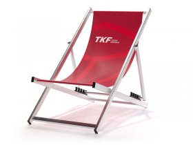 Aluminium Deckchair without an armres