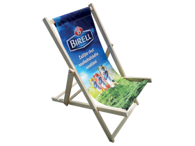Promo Wooden Deckchair without an armres