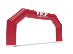 Polygon-shaped inflatable gate