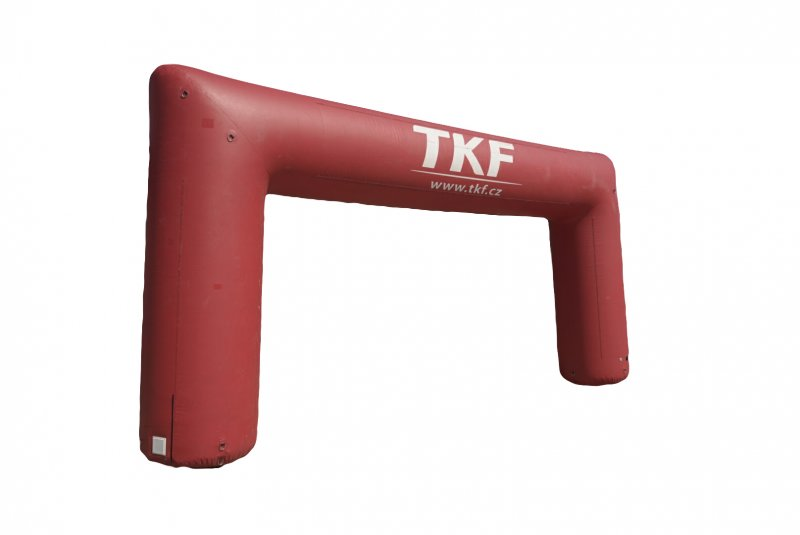 Rectangular-shaped inflatable gate