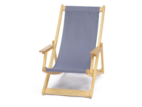 Wooden deckchair rental