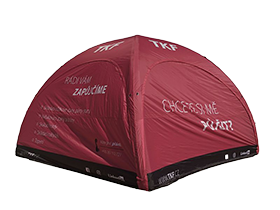 Inflatable tent rental